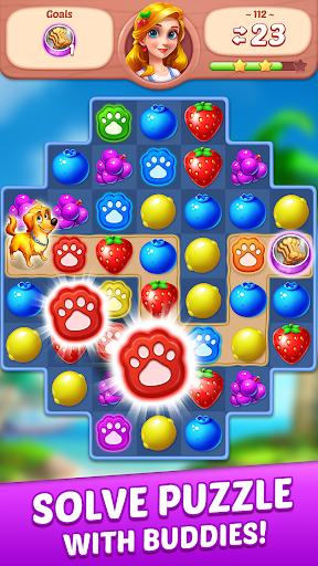 Fruit Genies - Match 3 Puzzle Games Offline screenshots 4