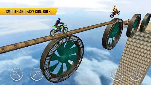 Bike Racing - 2020 Extreme Speed Free Stunts 3D 100.7 screenshots 2