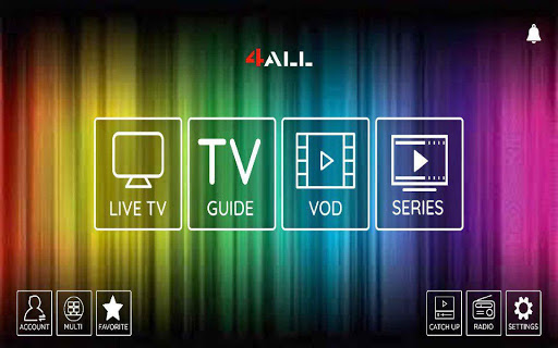 Foto do 4all Player IPTV