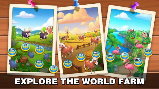 Solitaire Farm: Classic Tripeaks Card Games  screenshots 5