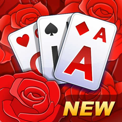 Solitaire TriPeaks Rose Garden - free card game
