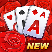 Solitaire TriPeaks Rose Garden: love flowers 2020
