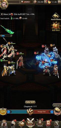 Idle Dynasty - Gratis 5* SSR Jendral  screenshots 18