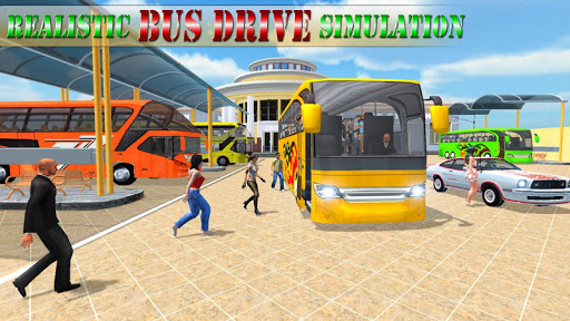 Modern Bus Drive Simulator - Bus Games 2021 apklade screenshots 1