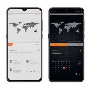 TECHDOTS Theme for KLWP Screenshot