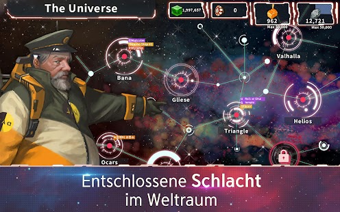 COSMIC WARS : THE GALACTIC BATTLE Screenshot