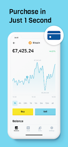 Download BLOX crypto trading - buy bitcoin without wallet mod apk 2