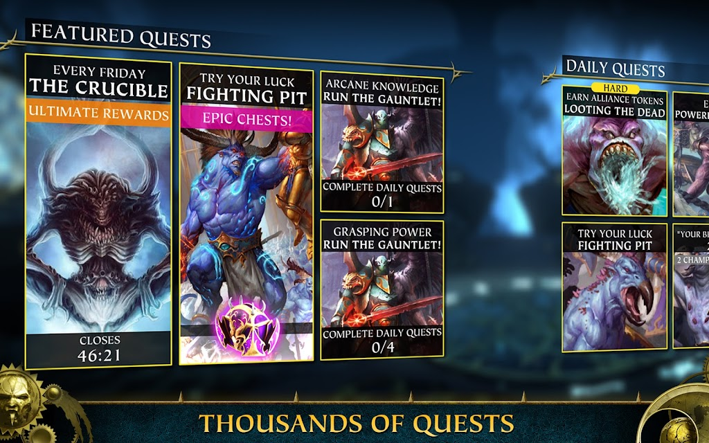 Warhammer Quest: Silver Tower -Turn Based Strategy poster 10