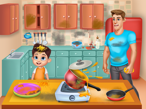 Daddyu2019s Helper Fun - Messy Room Cleanup 9.0 screenshots 9