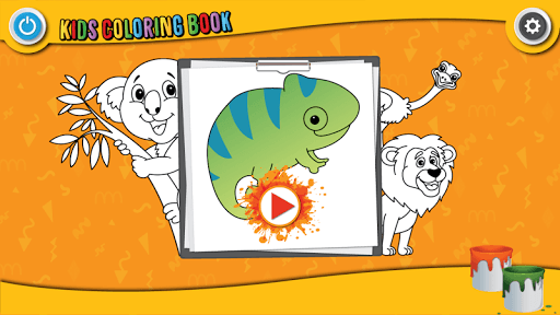 Kids Coloring Book : Cute Animals Coloring Pages 1.0.1.4 screenshots 9