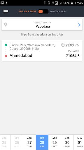 Goibibo Driver App for cabs  screenshots 1