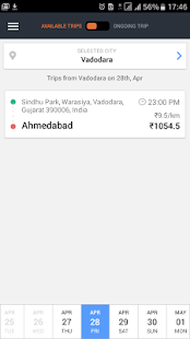 Goibibo Driver App for cabs Screenshot