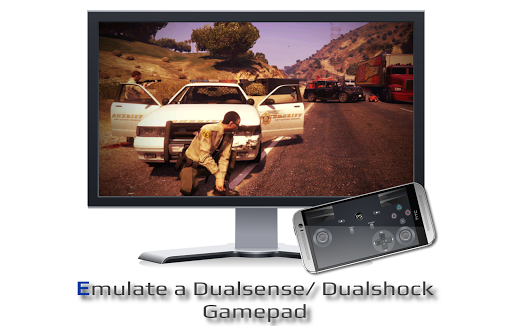 PSPad: Mobile Dualshock Gamepad for PS5/ PS4 android2mod screenshots 5