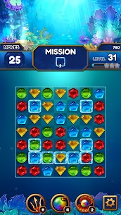 Under the Deep Sea: Jewel Match3 Puzzle 10