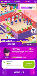 Idle Beauty Salon: Hair and nails parlor Mod Apk (Unlimited Money) 5