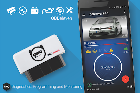 OBDeleven car diagnostics v0.36.0 [Pro] [Mod Extra] 1