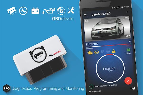 تحميل تطبيق OBDeleven Car Diagnostics للاندرويد