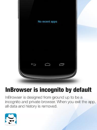 InBrowser - Incognito Browsing 2.42.5 Screenshots 11