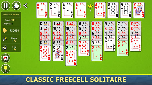 FreeCell Solitaire Mobile 2.0.7 screenshots 2