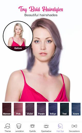 Perfect Sweet Makeup Camera-Virtual Makeover 1.0.0 Screenshots 3