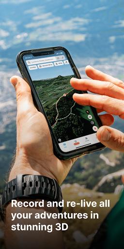 FATMAP: Hike, Bike, Ski Trails - 3D Outdoor Maps apktram screenshots 2