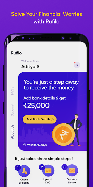 Rufilo – India's first SMaRT credit card discovery and instant credit line based personal loan platform