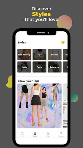 LiLi Style - All Fashion Shops Apkfinish screenshots 5