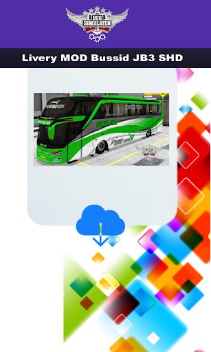 Livery MOD Bussid JB3 SHD  Screenshots 6