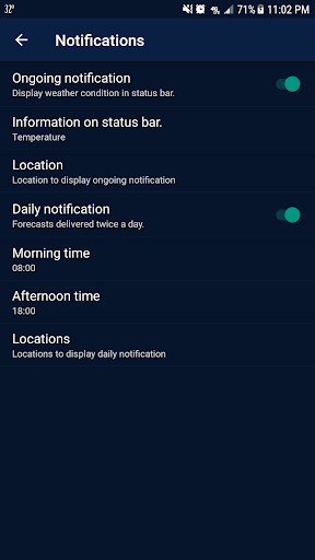 Weather - Weather Real-time Forecast 1.3 Screenshots 7