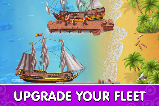 Pocket Ships Tap Tycoon: Idle Seaport Clicker modavailable screenshots 2