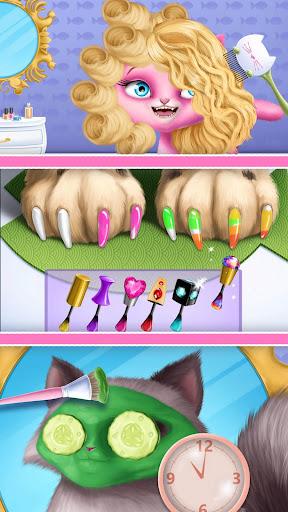 Cat Hair Salon Birthday Party - Virtual Kitty Care 8.0.80007 screenshots 8
