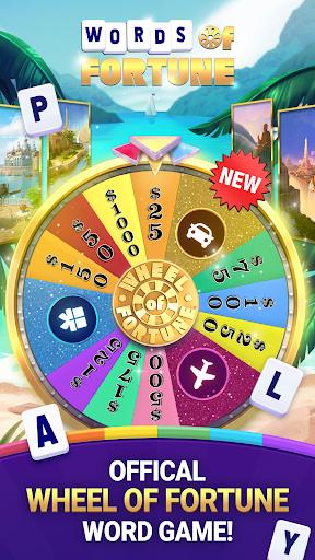 Wheel of Fortune: Words of Fortune Crossword Fun  screenshots 1