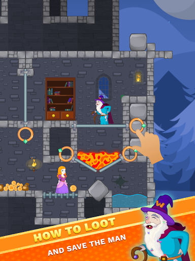 How To Loot: Pull The Pin & Rescue Princess Puzzle  Screenshots 15