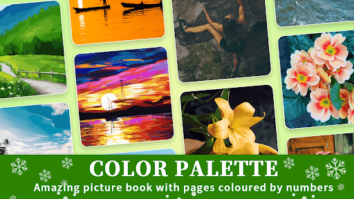 Color Palette - Oil Painting Color by Number 4.4.2 screenshots 1