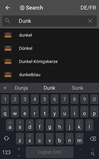 dict.cc dictionary  screenshots 3