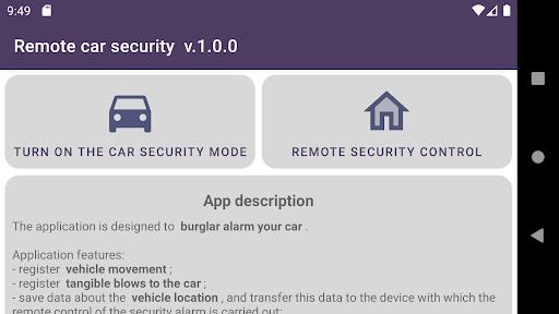 Remote car security screenshot 8