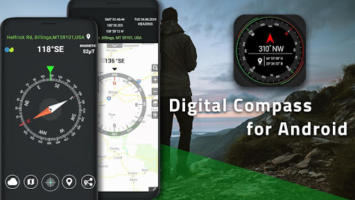 Smart Compass for Android - Compass App Free  Screenshots 6