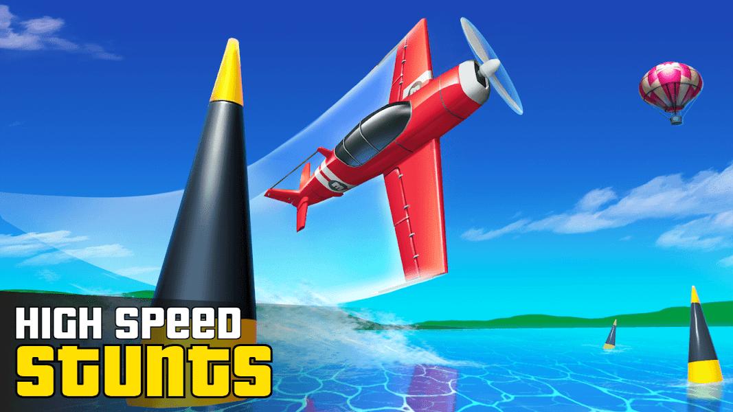 Stunt Plane – Plane Race Takeoff at San Andreas