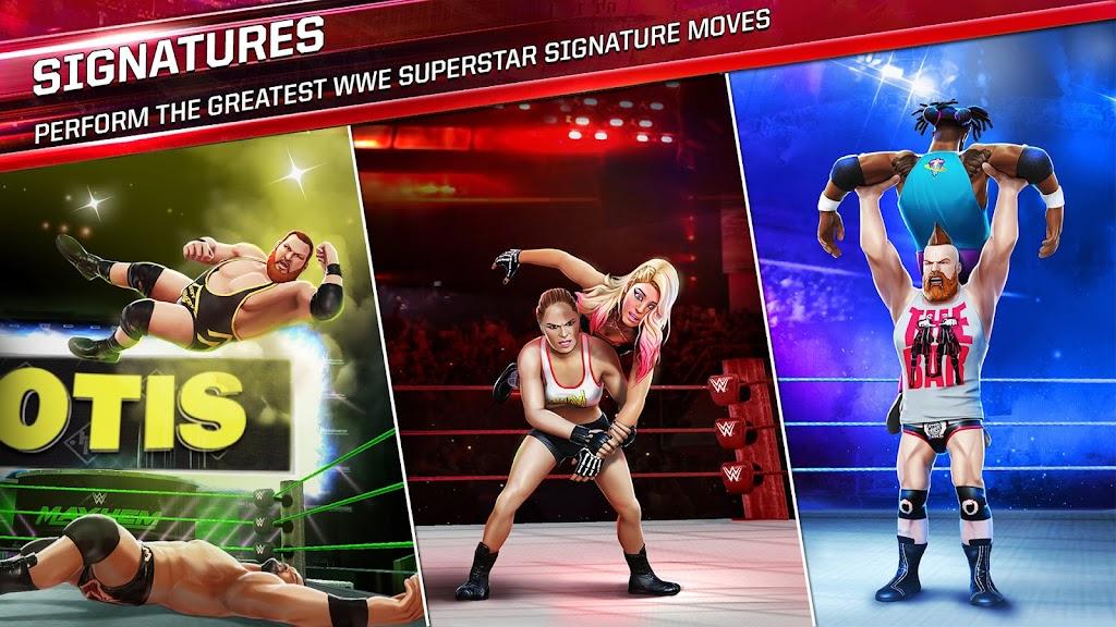 WWE Mayhem poster 1