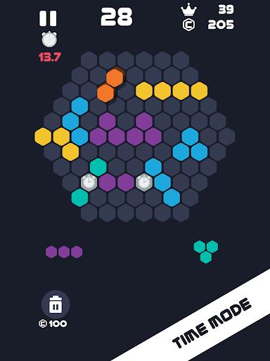 Hexa Mania Fill Hexagon Puzzle, Hex Block Blast  screenshots 14