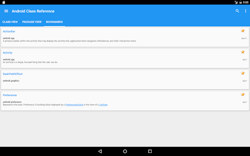 Offline Android API Reference