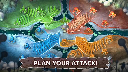 Mushroom Wars 2: Real-time war strategy ud83cudf44 Defense  screenshots 1