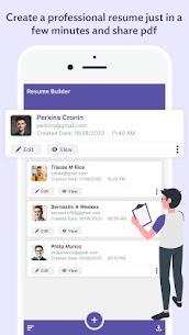 Professional Resume Builder – CV Resume Templates (MOD, Pro) v1.2 3