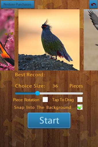 Birds Jigsaw Puzzles Game 1.9.17 screenshots 2
