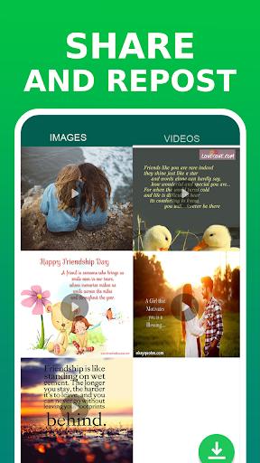 Status Saver for WhatsApp - Image Video Downloader 2.0.0 Screenshots 4