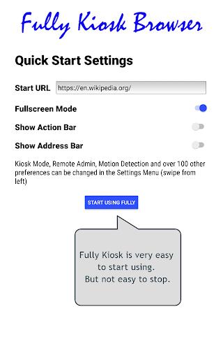 Fully Kiosk Browser & App Lockdown 1.42.4 Screenshots 17