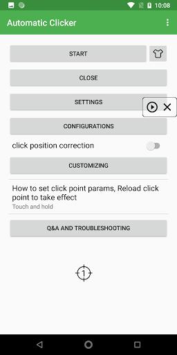 Simple Auto Clicker apktram screenshots 2