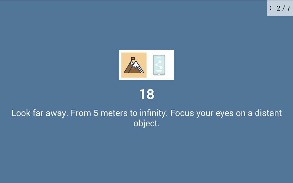 Eye exercises PRO  poster 22