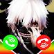Tokyo Ghoul Video Call & Wallpaper