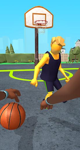 Dribble Hoops Apkfinish screenshots 1
